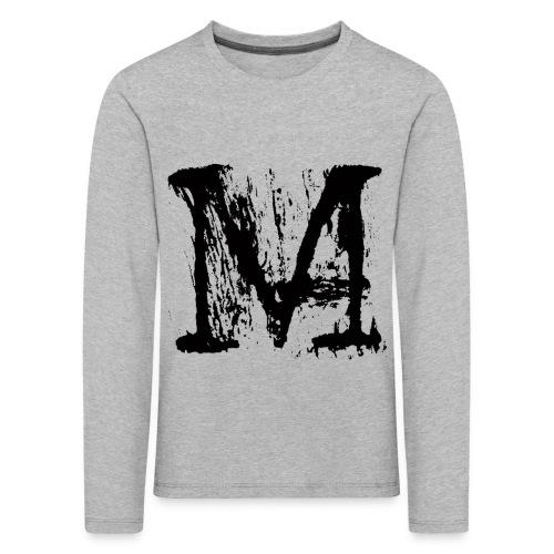 M - Maglietta Premium a manica lunga per bambini