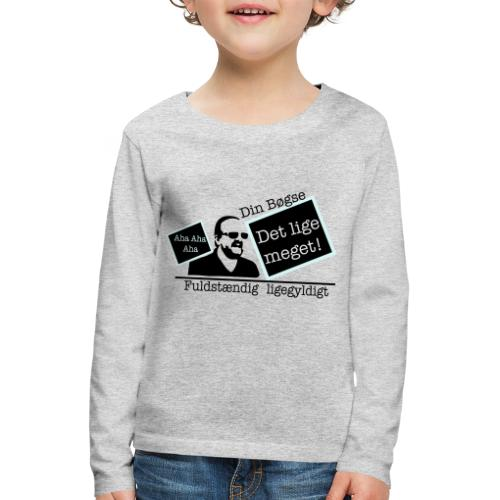 jeppe k epic wall of fame - Børne premium T-shirt med lange ærmer