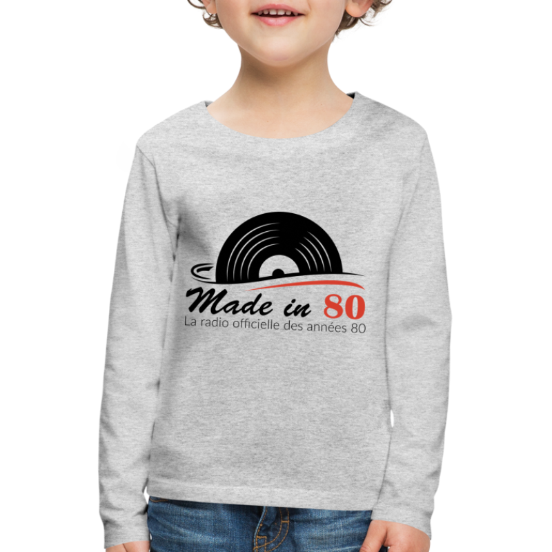 Made in 80 - T-shirt manches longues Premium Enfant