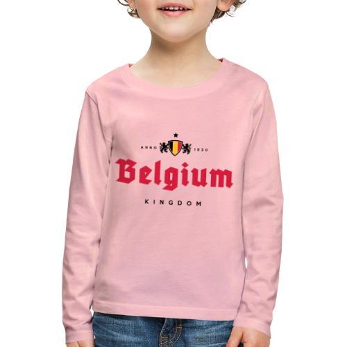 Bierre Belgique - Belgium - Belgie - T-shirt manches longues Premium Enfant