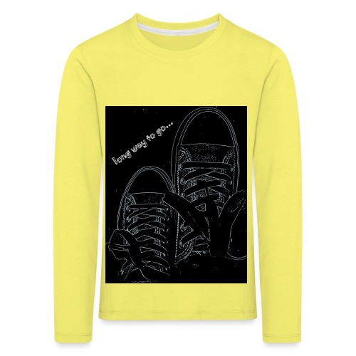 Long way to go - Kids' Premium Longsleeve Shirt