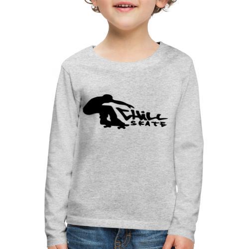 Chillskate - Långärmad premium-T-shirt barn