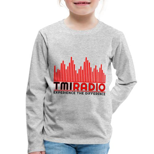 NEW TMI LOGO RED AND BLACK 2000 - Kids' Premium Longsleeve Shirt