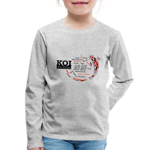 Koi - Kinder Premium Langarmshirt
