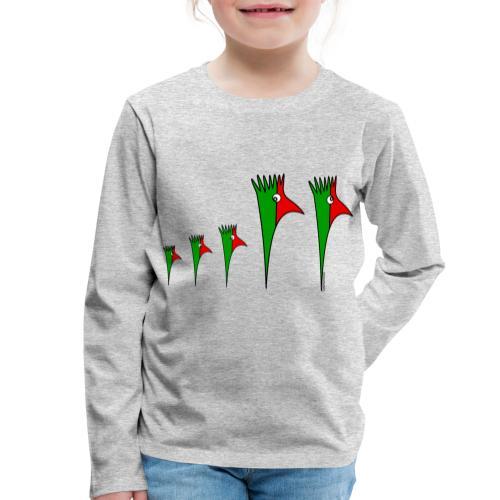 Galoloco - Família3 - Kinder Premium Langarmshirt
