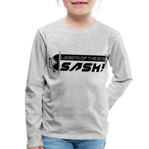 DJ SASH! Turntable 2020 Logo - Kids' Premium Longsleeve Shirt