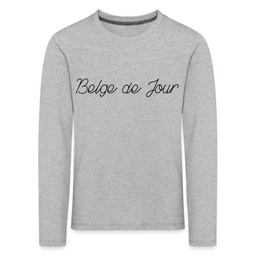 Belge de jour - T-shirt manches longues Premium Enfant