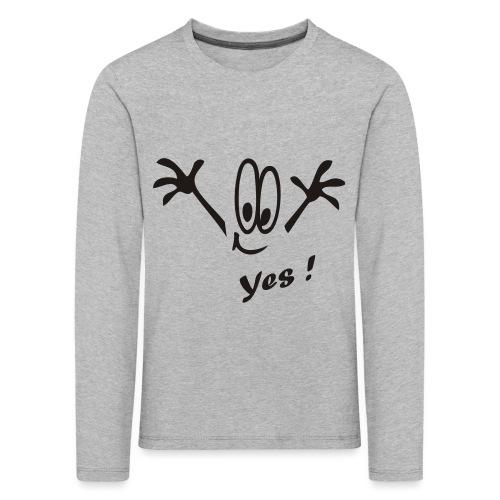 Yes ! Comic - Kinder Premium Langarmshirt