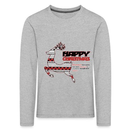 happy christmas - T-shirt manches longues Premium Enfant