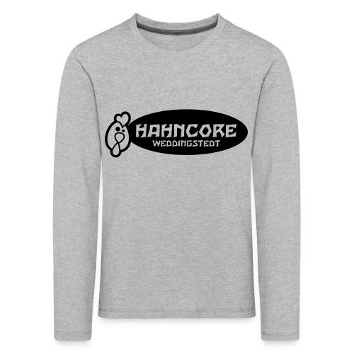 hahncore_sw_nur - Kinder Premium Langarmshirt