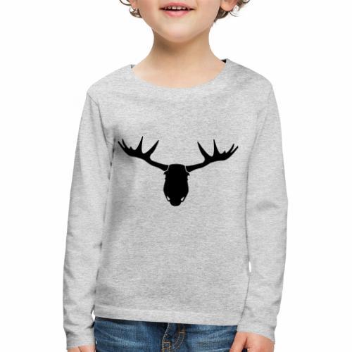 ElandHoofd - Kinderen Premium shirt met lange mouwen