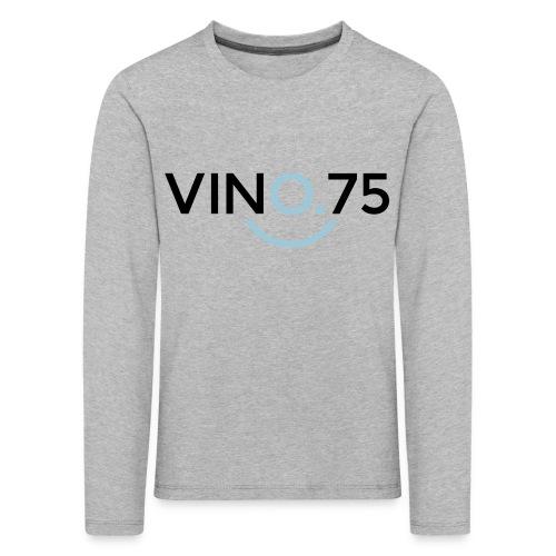 VINO75 - Maglietta Premium a manica lunga per bambini