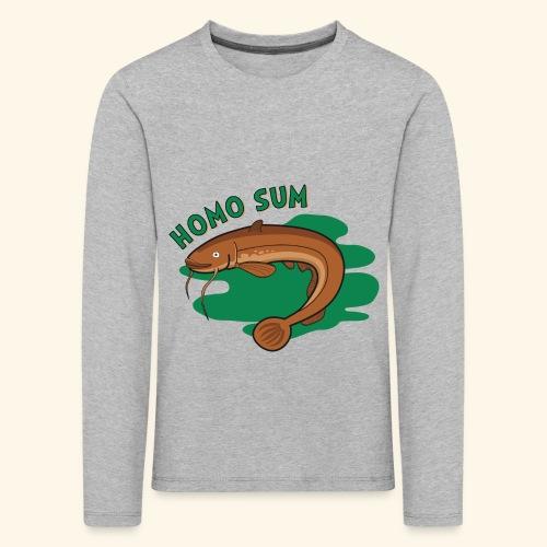 Homo sum ;) - Koszulka dziecięca Premium z długim rękawem