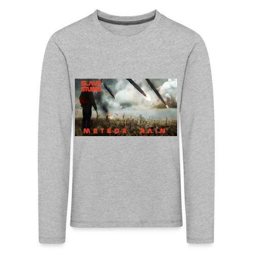 Meteor rain - Maglietta Premium a manica lunga per bambini