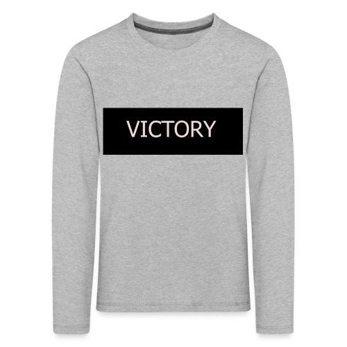 VICTORY - Kids' Premium Longsleeve Shirt