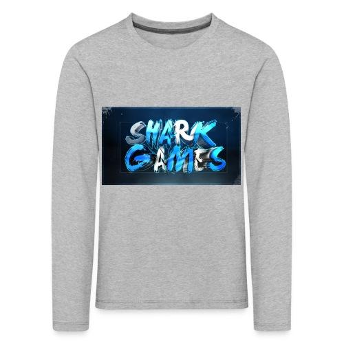 SharkGames - Maglietta Premium a manica lunga per bambini