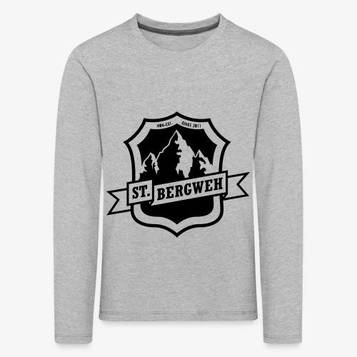 St. Bergweh Logo einfarbig - Kinder Premium Langarmshirt