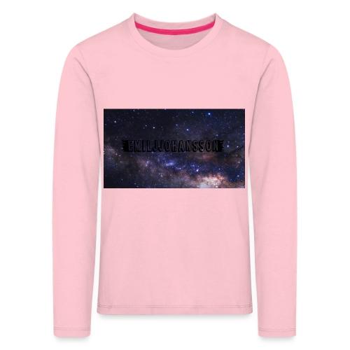 EMILJJOHANSSON - Långärmad premium-T-shirt barn