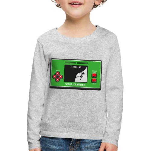 Solo Climber Telespiel - Kinder Premium Langarmshirt