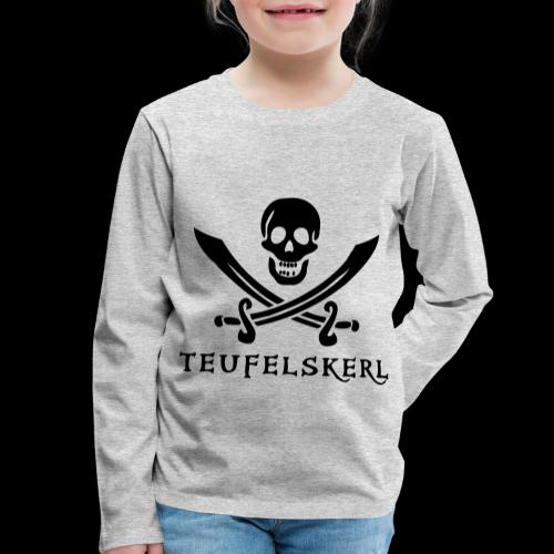 ~ Teufelskerl ~ - Kinder Premium Langarmshirt