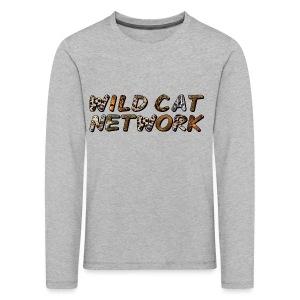 WildCatNetwork 1 - Kinder Premium Langarmshirt