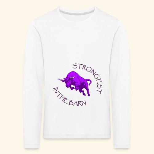 STRONGEST - Maglietta Premium a manica lunga per bambini