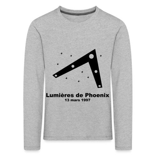 OVNI Lumieres de Phoenix - T-shirt manches longues Premium Enfant