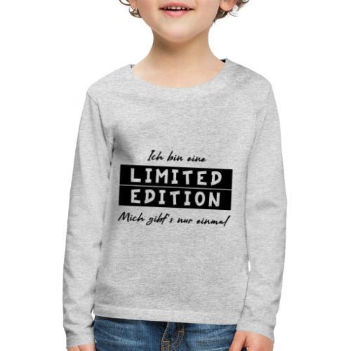 ich bin eine limit edition - Kinder Premium Langarmshirt