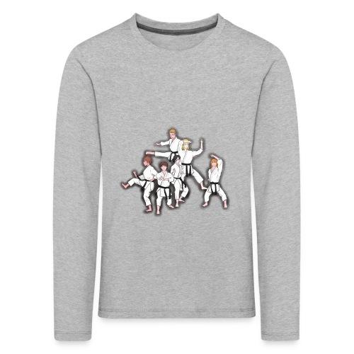 Karate - Kids' Premium Longsleeve Shirt
