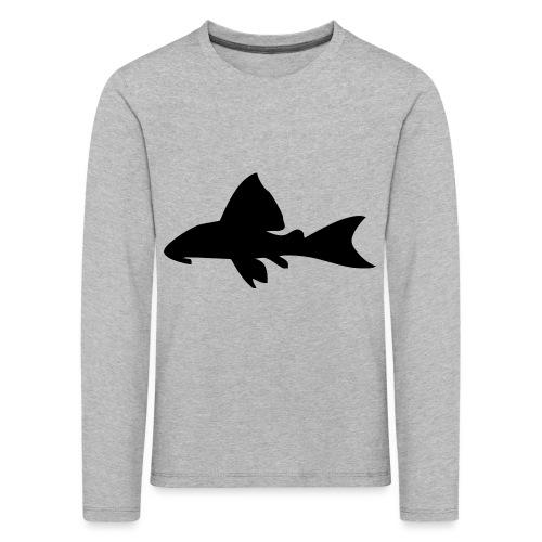 Malle - Premium langermet T-skjorte for barn