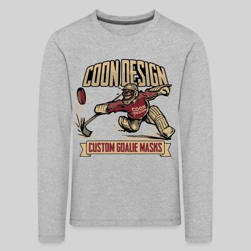 CoonDesign - Goalie - Kinder Premium Langarmshirt