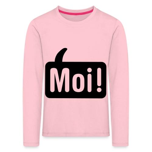 hoi shirt front - Kinderen Premium shirt met lange mouwen