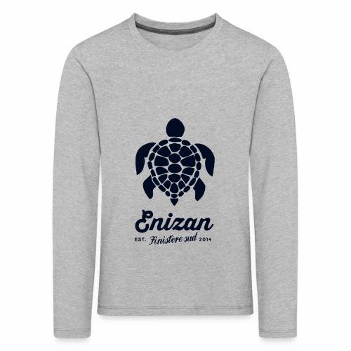 enizan-tortue - T-shirt manches longues Premium Enfant