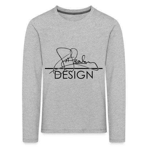 sasealey design logo png - Kids' Premium Longsleeve Shirt
