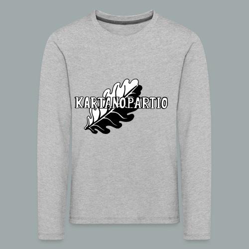 karpa logo photoshopattu - Lasten premium pitkähihainen t-paita