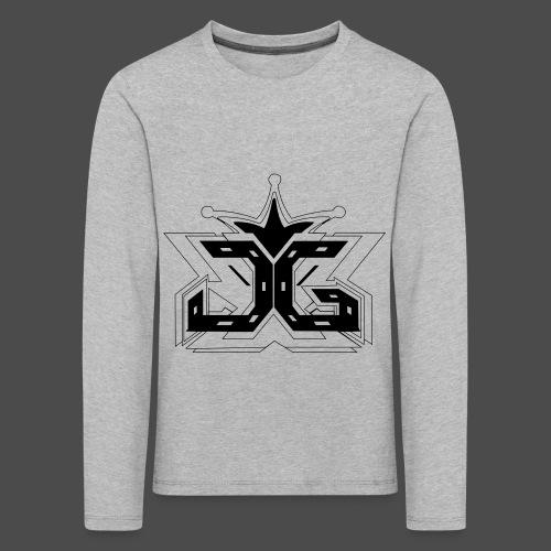 LOGO OUTLINE SMALL - Kids' Premium Longsleeve Shirt