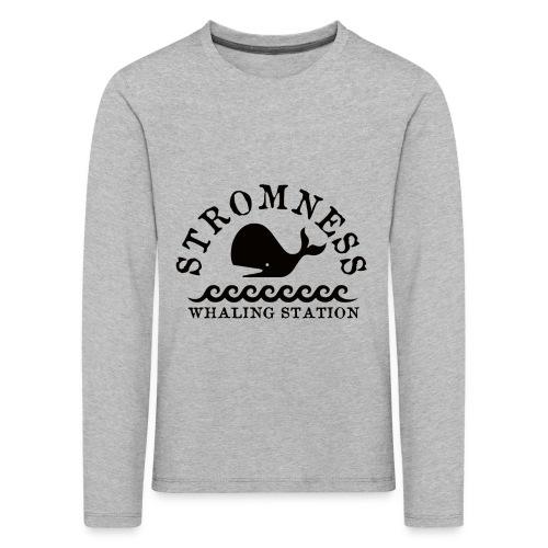 Sromness Whaling Station - Kids' Premium Longsleeve Shirt