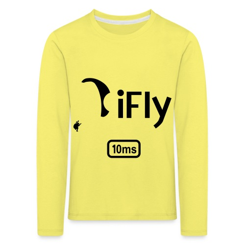 Paragliding iFly 10ms - Kids' Premium Longsleeve Shirt