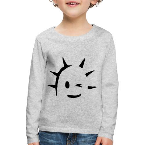 Kaktus Kopf - Kinder Premium Langarmshirt
