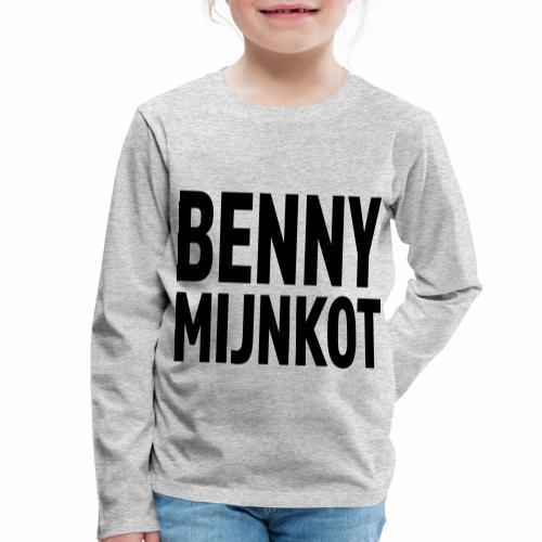 Benny Mijn kot - Kinderen Premium shirt met lange mouwen