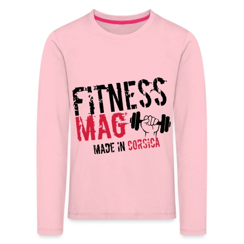 Fitness Mag made in corsica 100% Polyester - T-shirt manches longues Premium Enfant