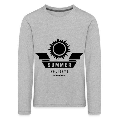 Summer holidays - Lasten premium pitkähihainen t-paita