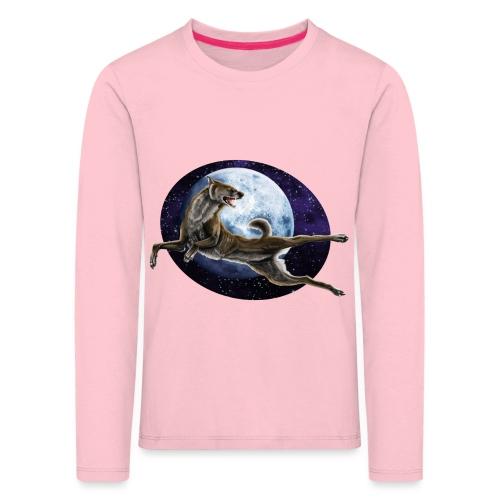 Galaxy Wolf - Kinder Premium Langarmshirt