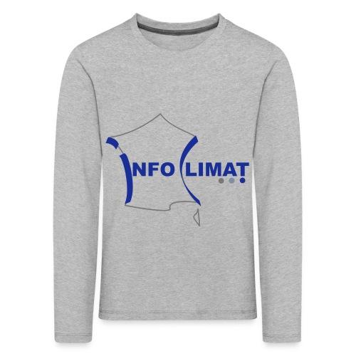 logo simplifié - T-shirt manches longues Premium Enfant