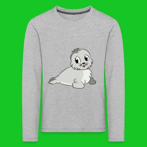 Zeehondje - Kinderen Premium shirt met lange mouwen