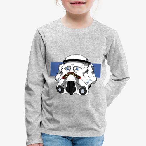 The Look of Concern - Kids' Premium Longsleeve Shirt