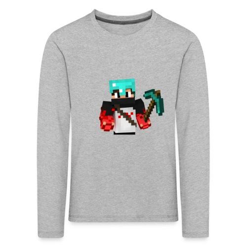 Bradley's character Skin Designs - Kids' Premium Longsleeve Shirt