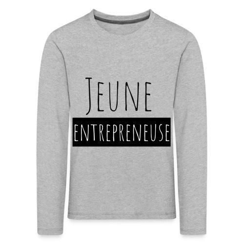 Jeune Entrepreneuse - T-shirt manches longues Premium Enfant