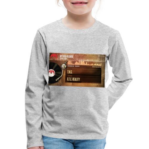 T.N.G. - X.T.C. Reality - Kinderen Premium shirt met lange mouwen