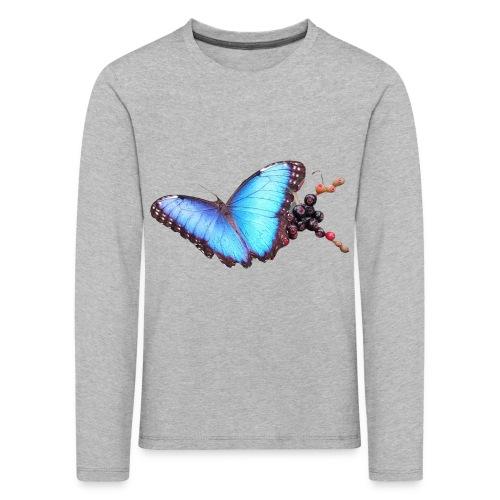 Morpho butterfly - Kinderen Premium shirt met lange mouwen